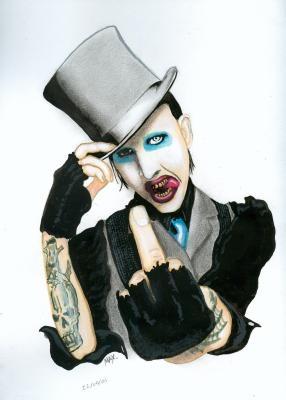 Marilyn Manson by Hippy